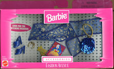 Barbie Fashion Avenue  Accessories Blue and Gold(New)