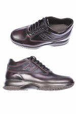Scarpe Hogan SHOES -20% PELLE MADE IN ITALY UOMO Marrone HXM00N09042-6MAR807