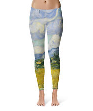 Vincent Van Gogh Fine Art Painting Sport Leggings XS-5XL Full Length High Waist