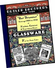Butler Brothers Catalog Fenton Carnival Glass + Department Store Glassware 375pp