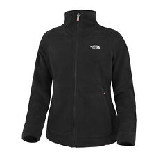 THE NORTH FACE DONNE 200 OMBRA FULL ZIP GIACCA IN PILE TNF NERO T0CMH8JK3