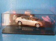 WEBASTO WELCOME 1 CONCEPT CAR 2001 NOREV 1/43 BEIGE DIE CAST MODEL LHD