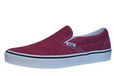 Vans Classic Slip On Unisex Trainers / Casual Skate Shoes - Festival Pink