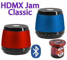 HMDX Jam Classic Portable Rechargeable Bluetooth Speaker Big Sound Red or Blue