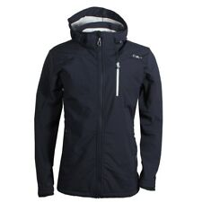 CMP Campagnolo uomo inverno giacca Softshell interno in pile Black-Blue ICE