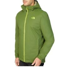 GIACCA THE NORTH FACE QUEST INSULATED JACKET SCALLION GREEN SIZE L UOMO HYVENT
