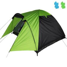 Dome Tent with Canopy ERIE 3 - 4 Man Camping Tent Trekking Festival by BB Sport