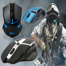 2.4 GHz Regolabile DPI USB Ottico Wireless Pro Gaming Mouse Con Filo