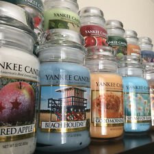 YANKEE CANDLE - Choose Scents From Large Jars 22oz