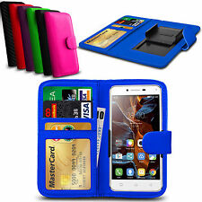 Clip On PU Leather Flip Wallet Book Case Cover For UMI EMAX