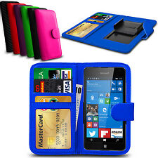 Clip On PU Leather Flip Wallet Book Case Cover For Nokia Lumia 720