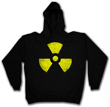 RADIOACTIFS HOODED SWEAT - Pull À Capuche - Hardcore Cyber Punk Gothique