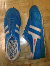 Gola Men`s Leather Trainer New in Box Suede Blue