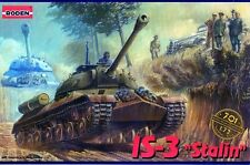 IS-3 STALIN (JS-3) (SOVIET AND POLISH ARMY MARKINGS) 1/72 RODEN