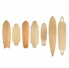 Ridge prima Regal mini / twin tip / pintail tabla longboard skate arce natural