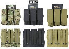 Army Combat Military Triple Mag Ammo Utility Belt Webbing Pouch Pack Bag Surplus