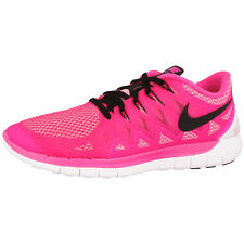 NIKE FREE 5.0 WOMEN'S SHOES RUNNING SHOES PINK BLACK 642199-603 RUN 5.0+ 4.0