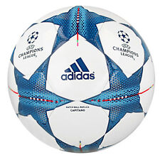ADIDAS FINALE 15 CAPITANO TRAININGS BALL CHAMPIONS LEAGUE SPIELBALL WHITE S90224