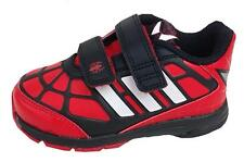 Adidas Infants Disney Spiderman comfort Trainer Scarlet red M25947 New Boxed