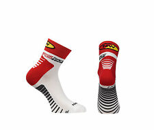 Calze Calzini Estivi Northwave Mod.SPEED White/Red/SUMMER SOCKS NORTHWAVE SPEE