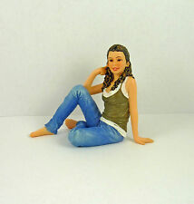 Dollhouse Miniature Resin Doll Young Woman Kate, HW3028