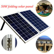 80W 100W 120W Portable Folding Solarkoffer Photovoltaik Solarpanel 12V Module