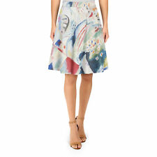 Kandinsky Abstract Art Painting A-Line Skirt XS-3XL Flared Skirt