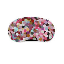 Girly Confetti Sleeping Mask Travel Eye Mask