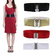 Women's Fashion Elastic Cinch Belt 3