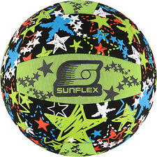 Beachball Funball Neopren Volleyball Ball Sunflex Neoprenball Strandball GLOW