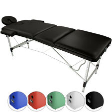 Mobile Massage Table Bed AGILITY Aluminum 3 PARTS Beauty Couch portable folding