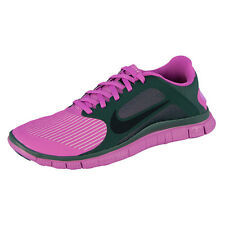 NIKE FREE 4.0 V3 WOMEN LADIES RUNNING SHOES PINK BLACK 580406-603 SHOES RUN+ 5.0