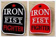 Iron Fist Fighter Embroidered Iron On Motif Applique - each (MI-20-2042-M)