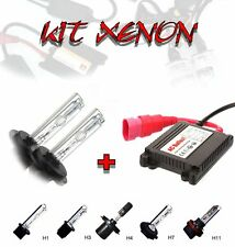 KIT LUCI XENON CON CENTRALINE SLIM LAMPADE H1 H3 H4-2 H7 H7C H7R H11