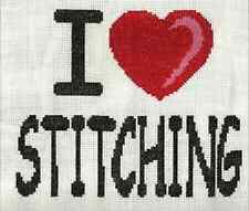 CROSS STITCH CHART, AIDA & NEEDLE - 22 DESIGNS TO CHOOSE FROM