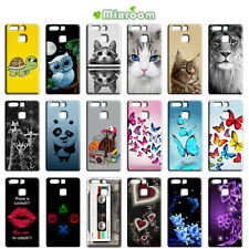 CUSTODIA COVER MORBIDA IN TPU SILICONE PER HUAWEI ASCEND P9 / P9 PLUS FANTASIA L