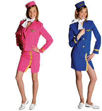 GIRLS/ Teenage   - Air Hostess Costume  - ages 10 to 16