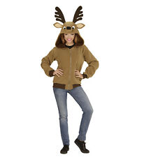 Felpa Renna Unisex Costume Carnevale Animale PS 01675