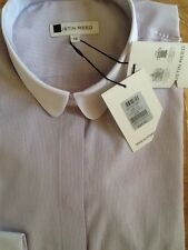 Womens Austin Reed Shirt,lilac pinstripe,sizes 6-18,rrp £69.90