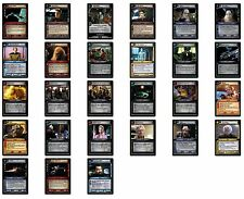 Star Trek CCG 2nd Edition Game Cards Decipher  Rare & Foils