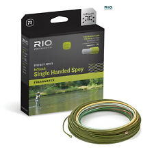 RIO InTouch Single Handed Spey Fly Line (Peach/Camo) * 2018 Stocks * ISING