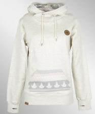 Shisha Buex Hooded Girls Pullover Beige Ash