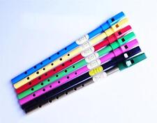 IRISH PENNY TIN WHISTLE  in key D or C, NEW COLOURS inc BRASS, BLACK