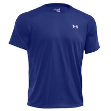 Under Armour Tech manga corta camiseta T-shirt Royal 1228539-400 Deporte Ocio