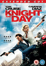 Knight And Day (DVD, 2010) / TOM CRUISE, CAMERON DIAZ /EXTENDED CUT P&P DISCOUNT