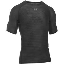 Under Armour Heatgear Compression Printed Short Sleeve Shirt black 1257477-006