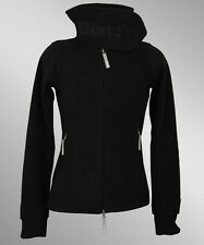 Bench Funnel Neck Fleece Jacke Jet Black Grey schwarz grau NEU
