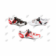 SCARPE SIDI GENIUS 5 FIT CARBON CICLISMO STRADA CORSA CYCLING ROAD SHOES