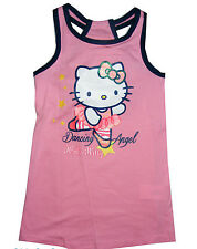 Sanrio Hello Kitty Kleid Gr. 98  104  116  128 100 % Baumwolle rosa