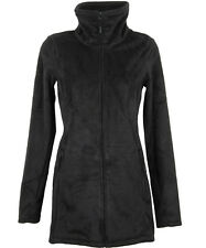 Bench Returning Fleece Jacke lang jet black schwarz